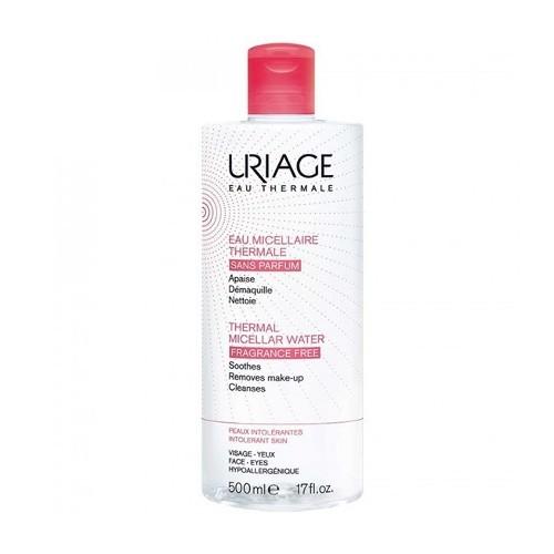 Uriage Micelární čisticí voda bez parfemace pro citlivou pleť se sklonem k podráždění Eau Thermale (Thermal Micellar Water) 250 ml