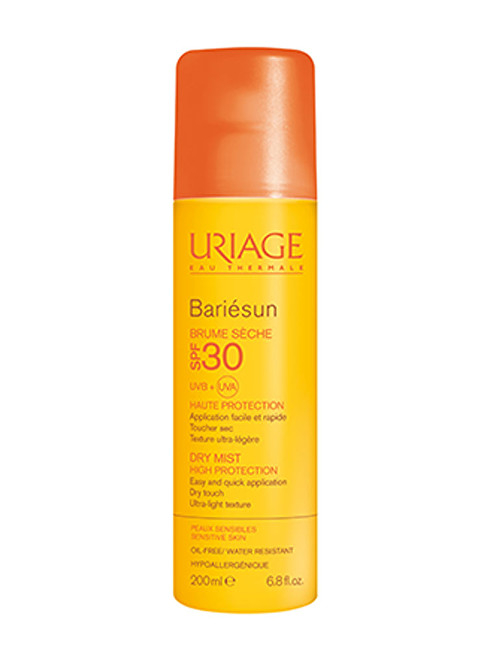Uriage Opaľovací hmla SPF 30 Bariésun (Dry Mist Very High Protection) 200 ml