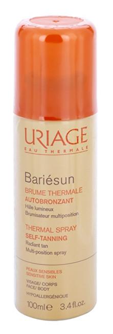 Uriage Samoopaľovací sprej na telo a tvár Bariésun Autobronzant (Thermal Spray Self-Tanning) 100 ml