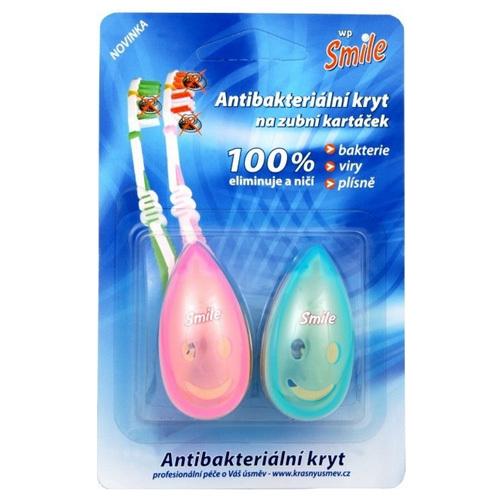 VitalCare Antibakteriální kryt na zubní kartáček Smile 2 ks