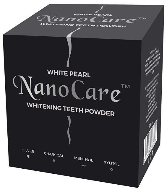 VitalCare Bieliace púder na zuby s nano technológiou ( Whitening Teeth Powder) 30 g