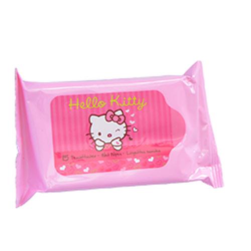 VitalCare Vlhčené obrúsky pre deti Hello Kitty 15 ks