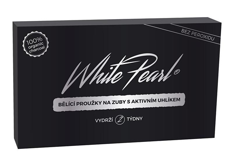 VitalCare Bieliace prúžky na zuby s aktívnym uhlíkom White Pearl