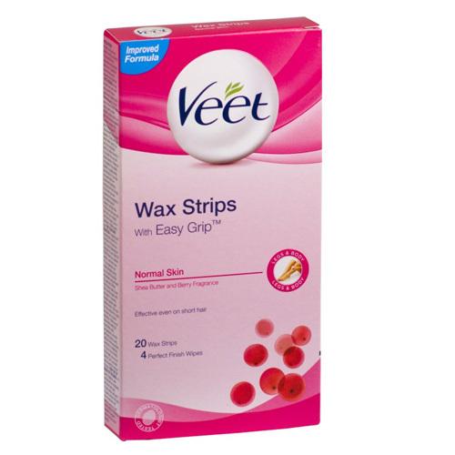 Veet Studené voskové pásky pro normální pokožku 12 ks
