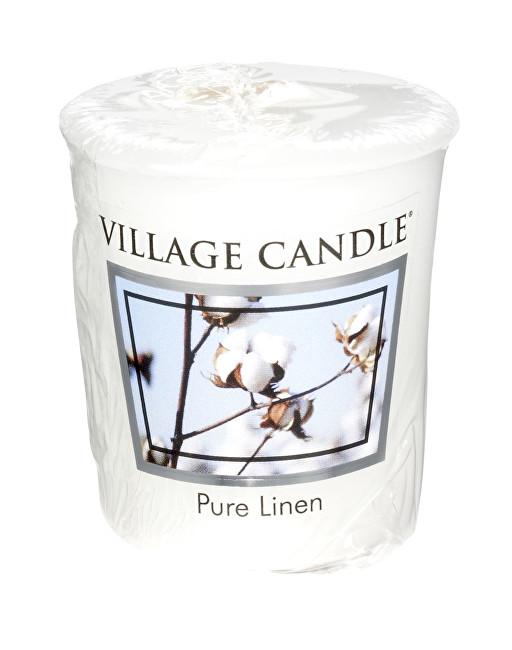 Village Candle Aromatická votivní svíčka Čisté prádlo (Pure Linen) 57 g