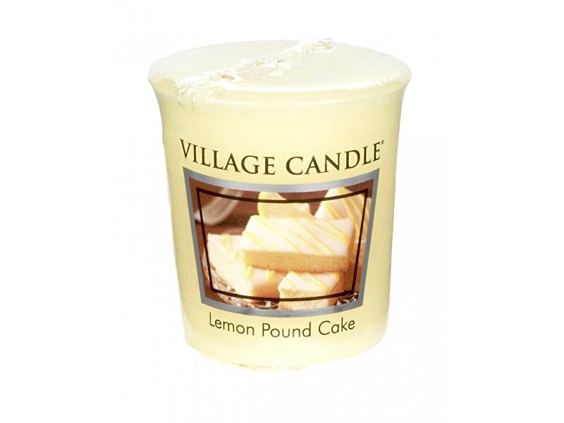 Village Candle Aromatická votivní svíčka Citrónový koláč (Lemon Poud Cake) 57 g