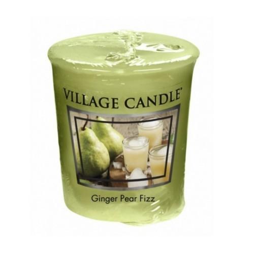 Village Candle Aromatická votivní svíčka Hruškový fizz se zázvorem (Ginger Pear Fizz) 57 g