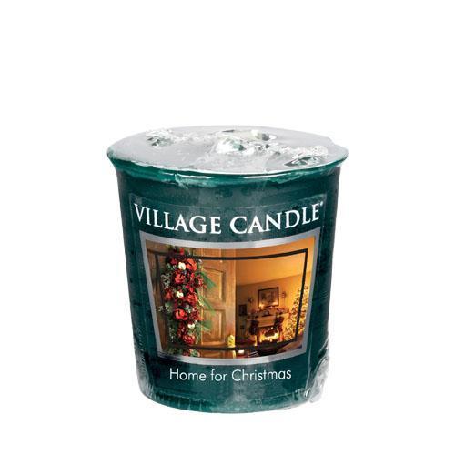 Village Candle Aromatická votivní svíčka Kouzlo Vánoc (Home For Christmas) 57 g