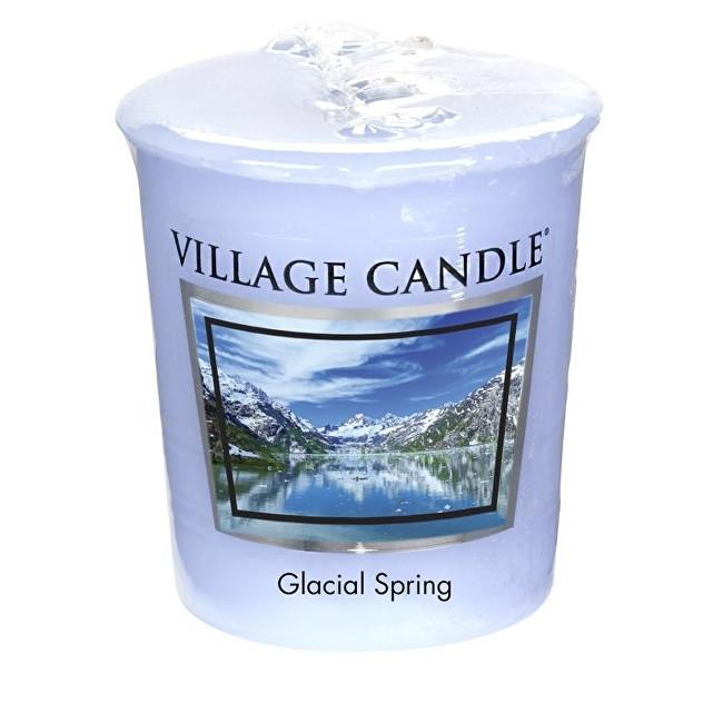 Village Candle Aromatická votivní svíčka Ledovcový vánek (Glacial Spring) 57 g