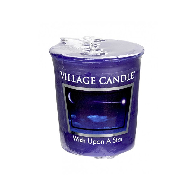 Village Candle Aromatická votívny sviečka Padajúca hviezda (Wish Upon a Star) 57 g