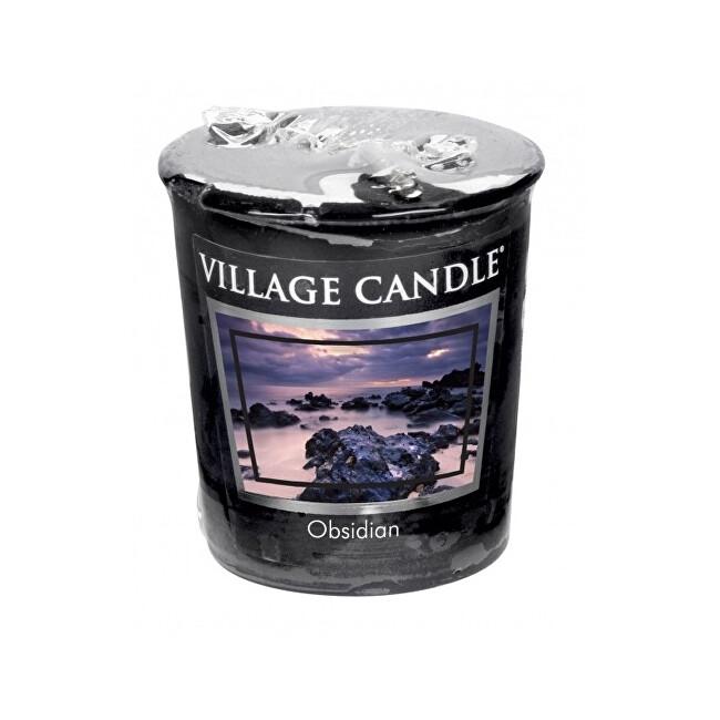 Village Candle Aromatická votivní svíčka Tajemný Obsidián (Obsidian) 57 g