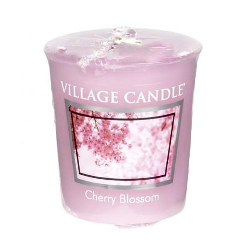 Village Candle Aromatická votivní svíčka Třešňový květ (Cherry Blossom) 57 g