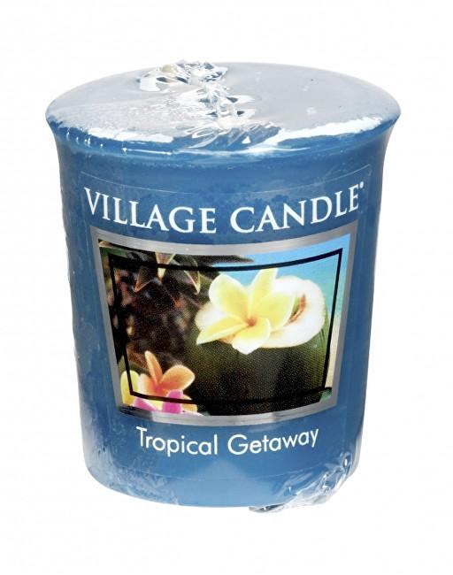 Village Candle Aromatická votivní svíčka Víkend v tropech (Tropical Getaway) 57 g