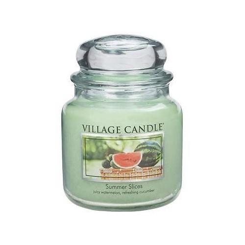 Village Candle Dekorativní vonná svíčka ve skle Letní pohoda (Summer Slices) 397 g