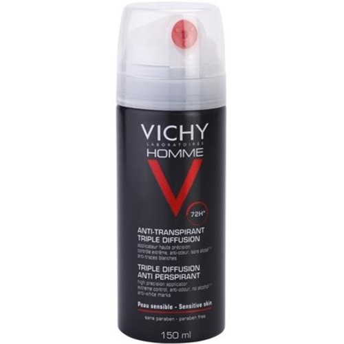 Vichy Antiperspirant spray 72h Homme(Triple Diffusion Anti Perspirant) 150 ml
