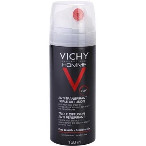 Vichy Deodorant ve spreji 72h Homme (Triple Diffusion Anti Perspirant) 150 ml