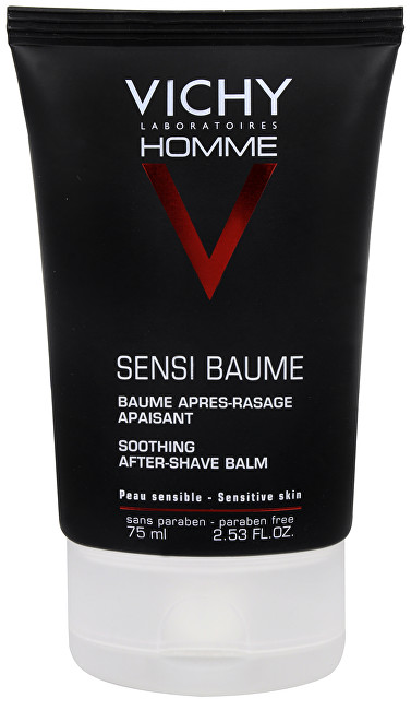 Vichy Balzam po holení Homme Sensi-Baume Mineral Ca (After-Shave Balm) 75 ml
