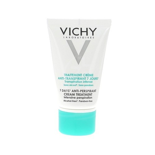 Vichy Deodorant Cream fără alcool (7 Days Anti-Perspirant Cream Treatment) 30 ml