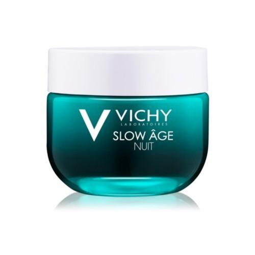 Vichy Îngrijire de noapte pentru regenerarea și oxigenarea pielii Slow Age 50 ml