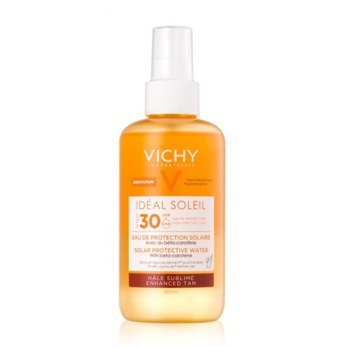 Vichy Spray de protecție cu Beta-caroten SPF 30 Ideal Soleil ( Solar Protective Water) 200 ml