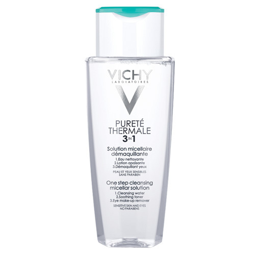 Vichy Odličovací micelární voda na citlivou pleť a oči Purete Thermale 3v1 200 ml
