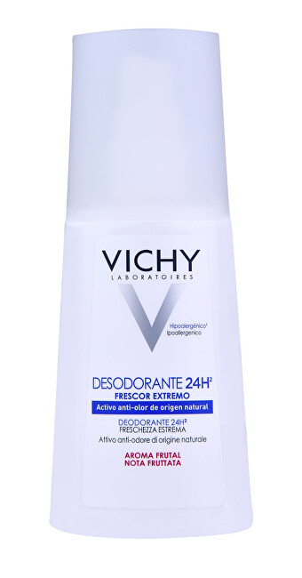 Vichy dezodorant osviežujúci deospray (Ultra-Refreshing deospray, Light Fruit Scent) 100 ml