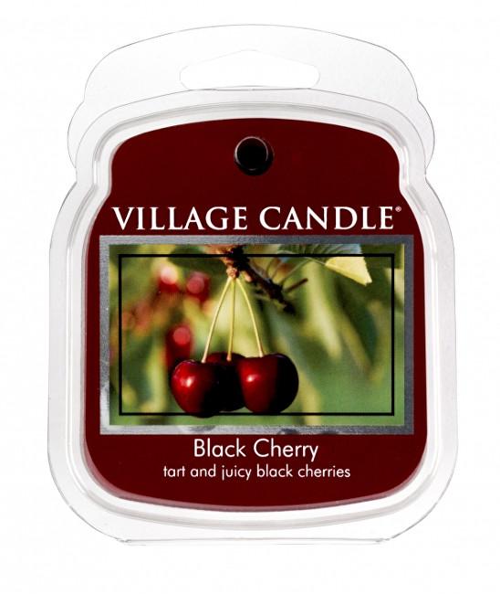 Village Candle Rozpustný vosk do aromalampy Černá třešeň (Black Cherry) 62 g