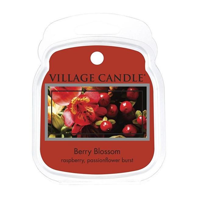 Village Candle Rozpustný vosk do aromalampy Červené květy (Berry Blossom) 62 g