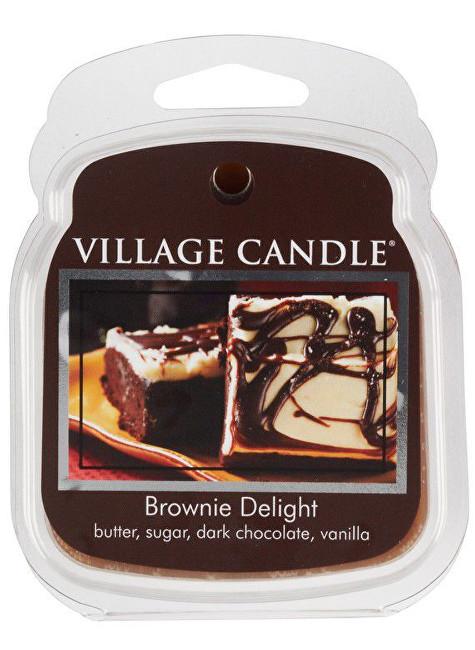 Village Candle Rozpustný vosk do aromalampy Čokoládový dortík (Brownie Delight) 62 g