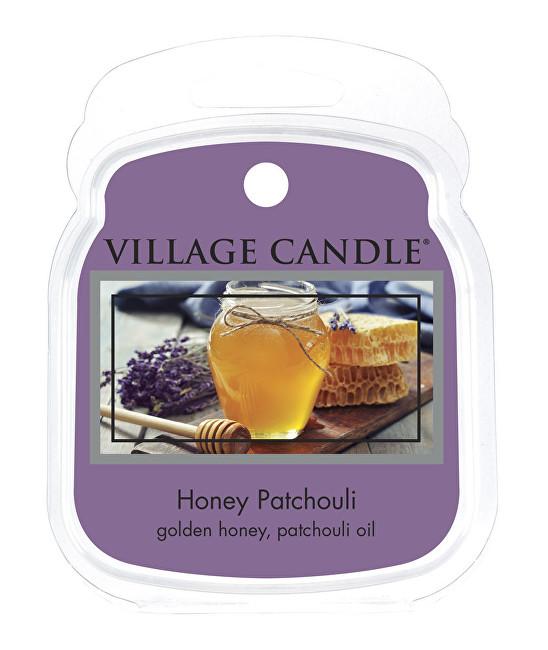 Village Candle Rozpustný vosk do aromalampy Med a Pačuli (Honey Patchouli) 62 g