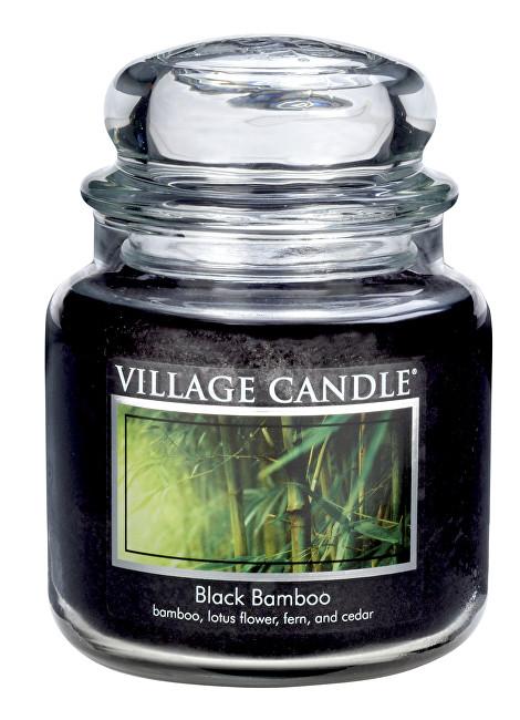Village Candle Vonná svíčka ve skle Bambus (Black Bamboo) 397 g