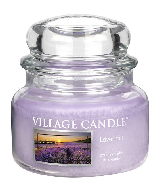 Village Candle Vonná svíčka ve skle Levandule (Lavender) 269 g
