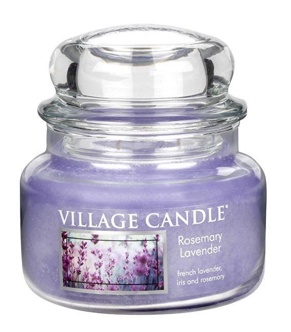 Village Candle Vonná svíčka ve skle Rozmarýn a levandule (Rosemary Lavender) 269 g