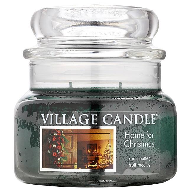 Village Candle Vonná svíčka ve skle Kouzlo Vánoc (Home For Christmas) 269 g