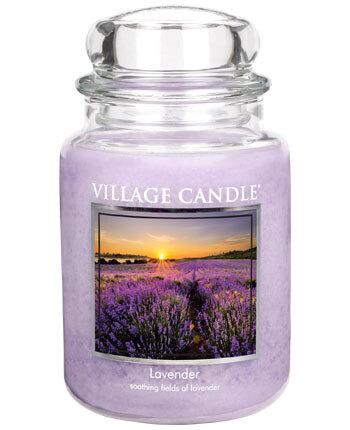 Village Candle Vonná svíčka ve skle Levandule (Lavender) 645 g