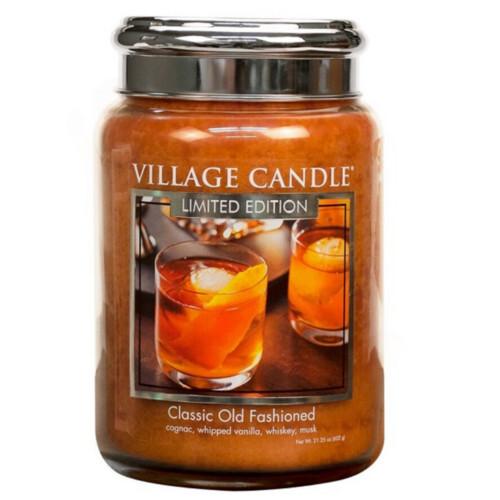 Village Candle Vonná svíčka ve skle Osvědčená klasika (Classic Old Fashioned) 602 g