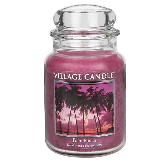 Village Candle Vonná svíčka ve skle Palmová pláž (Palm Beach) 645 g