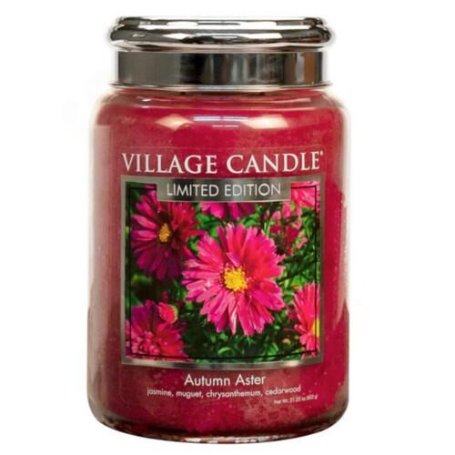 Village Candle Vonná svíčka ve skle Podzimní hvězdnice (Autumn Aster) 602 g