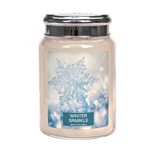 Village Candle Vonná svíčka ve skle Winter Sparkle 602 g