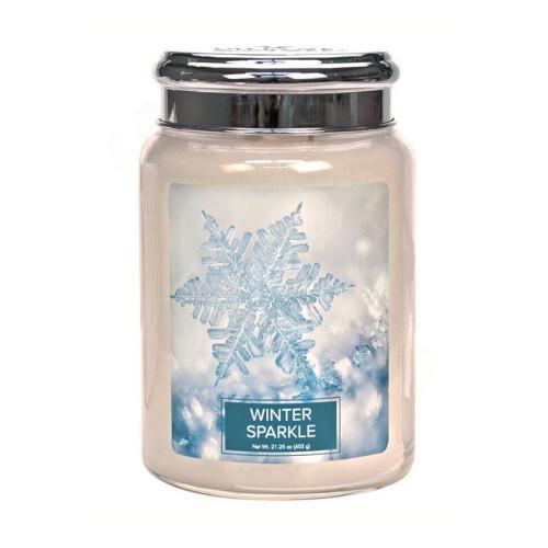 Village Candle Vonná svíčka ve skle Winter Sparkle 602 g
