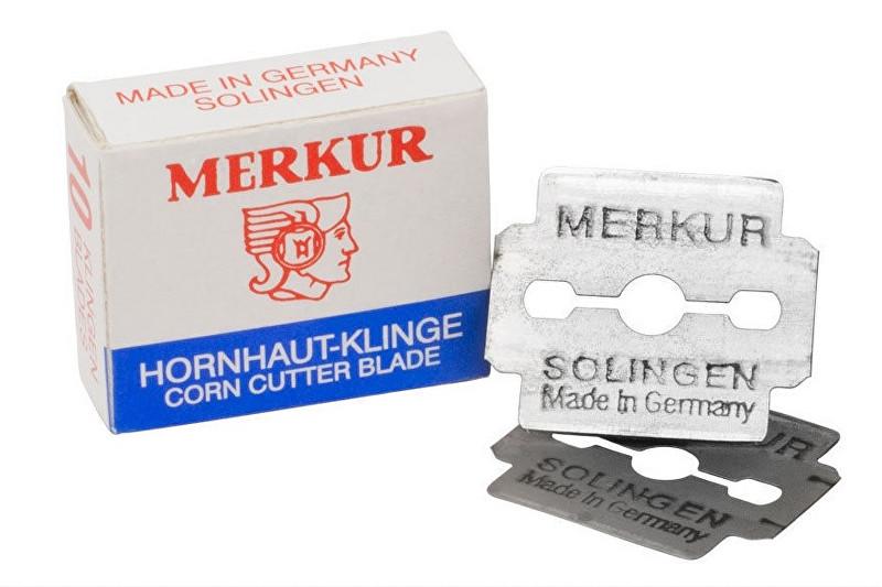 Ostatní Žiletky k seřezávači kůže Merkur Solingen 10 ks - VZOREK