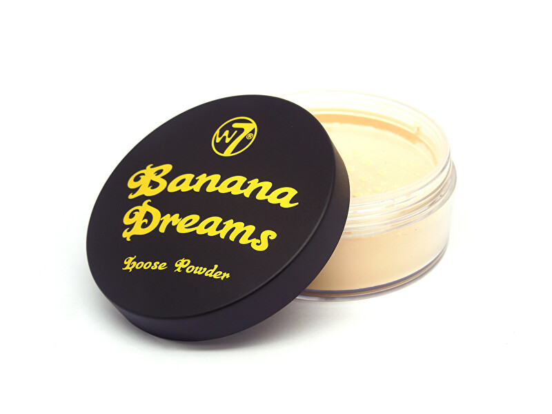 W7 Cosmetics Sypký pudr Banana Dreams Loose Powder 20 g