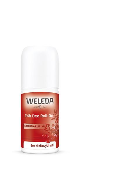 Weleda Kuličkový deodorant granátové jablko 24H (Deo Roll-On) 50 ml