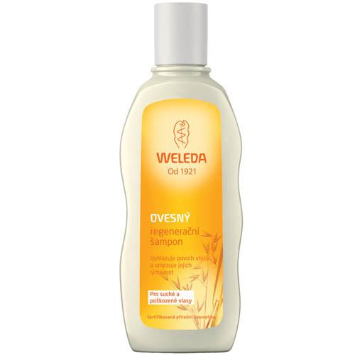 Fotografie Weleda Oves regenerační šampon pro suché a poškozené vlasy 190 ml
