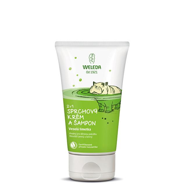 Weleda Sprchový krém a šampon 2 v 1 Veselá limetka 150 ml