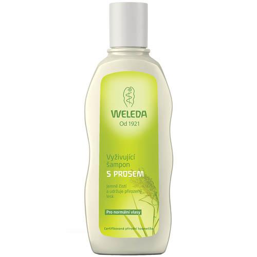 Fotografie Weleda Vyživující šampon s prosem pro normální vlasy 190 ml Weleda