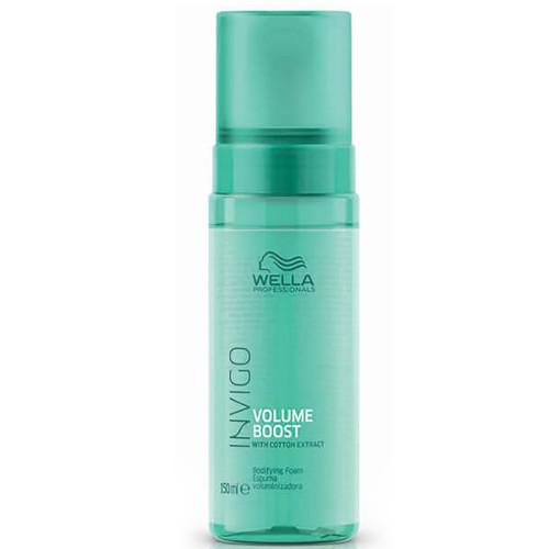Wella Professionals Bezoplachová pěna pro větší objem jemných vlasů Invigo Volume Boost (Bodifying Foam) 150 ml