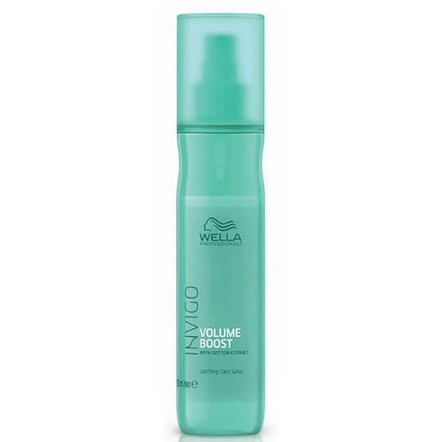 Wella Professionals Bezoplachový sprej pro větší objem jemných vlasů Invigo Volume Boost (Uplifting Care Spray) 150 ml