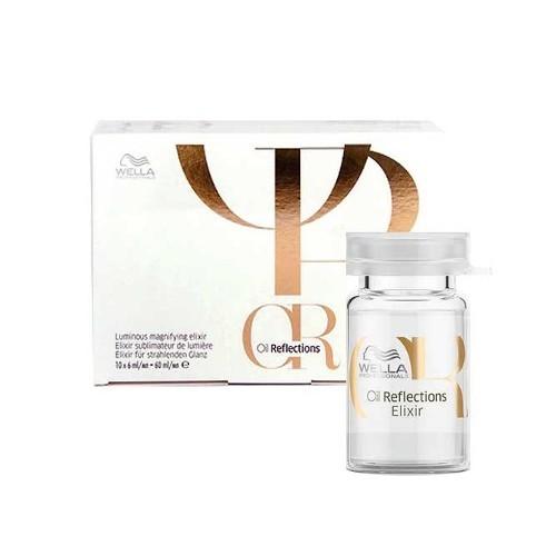 Wella Professional Elixír pro extra lesk a hebkost vlasů Oil Reflections (Luminous Magnifying Elixir) 10 x 6 ml