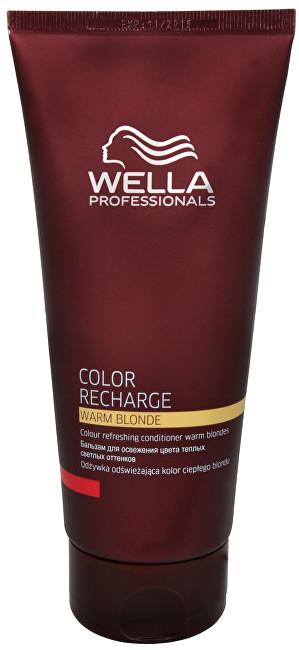 Wella Professionals Kondicionér pro oživení teplých blond odstínů vlasů Color Recharge (Warm Blonde Conditioner) 200 ml